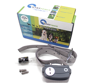 stayfence electric dog fence kit extra collar